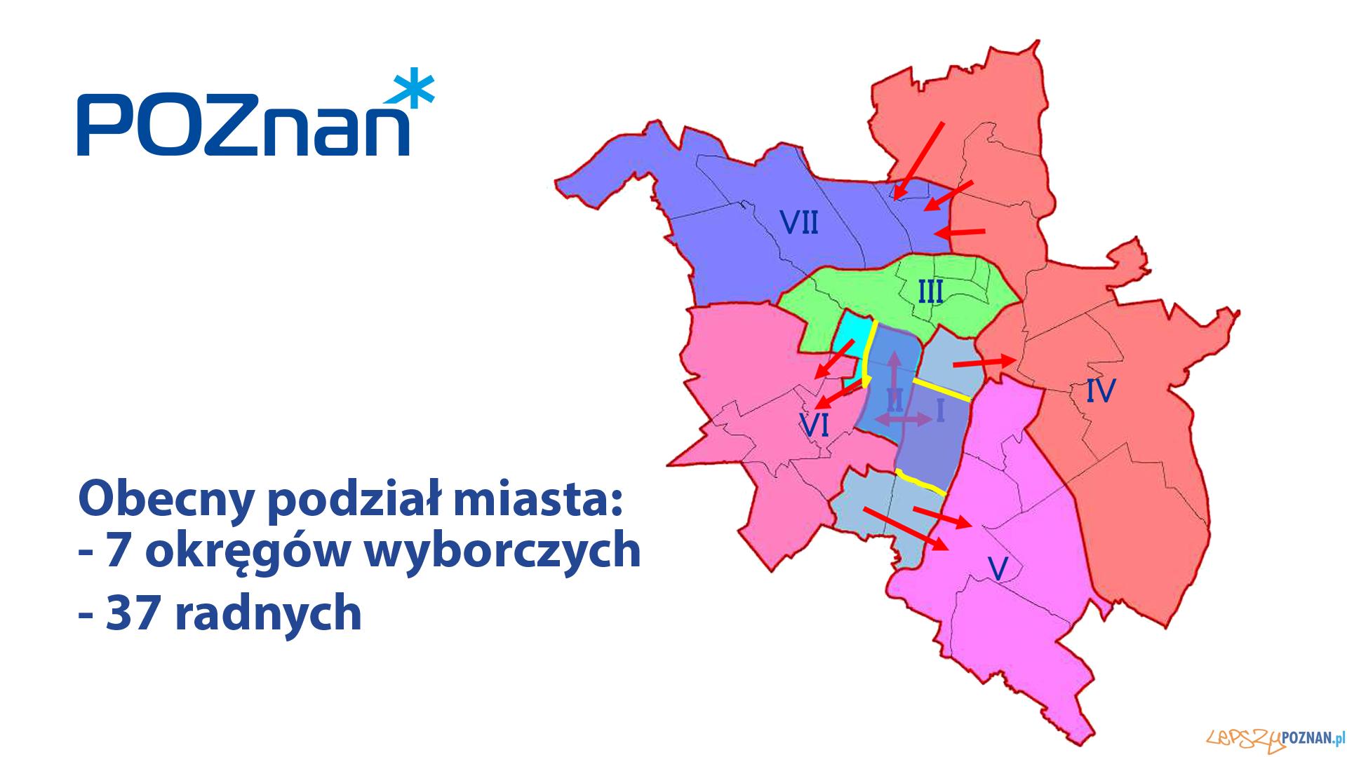 Zmiany okręgów wyborczych  Foto: UMP