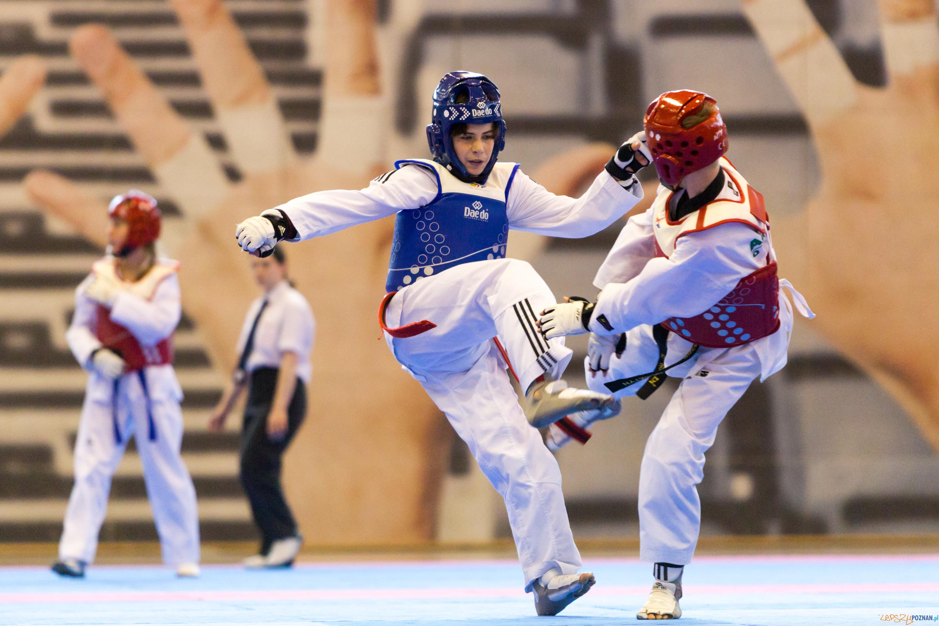 Ogólnopolskie Olimpiady Młodzieży -  Taekwondo  Foto: lepszyPOZNAN.pl/Piotr Rychter