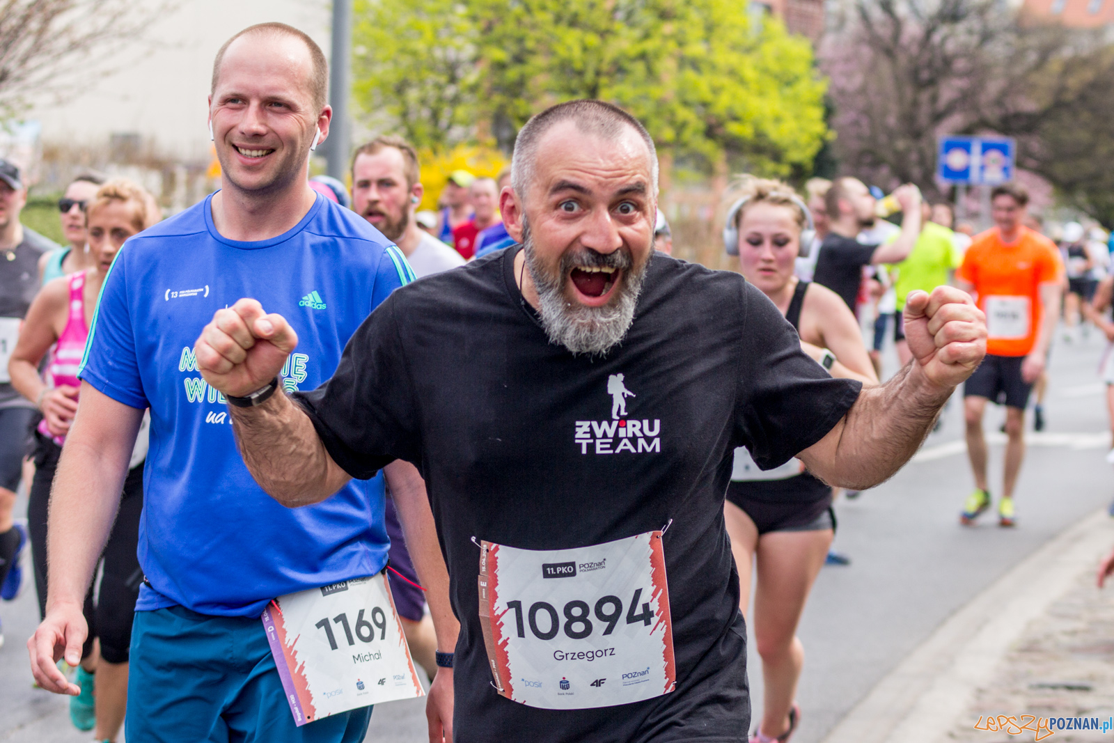 11. PKO Poznań Półmaraton  Foto: lepszyPOZNAN.pl / Ewelina Jaśkowiak