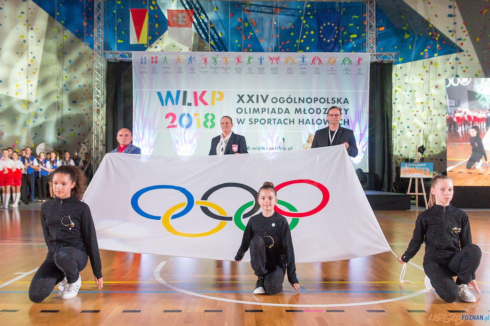 Ogólnopolskie Olimpiady Młodzieży - Centralne Otwarcie Swarzedz  Foto: lepszyPOZNAN.pl / Piotr Rychter