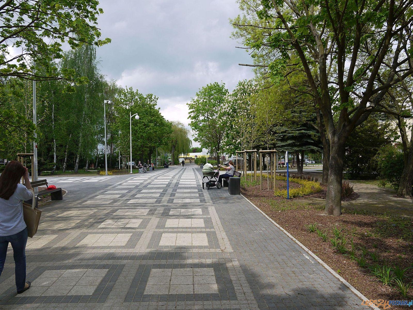 Swarzędz - deptak - etap 2  Foto: T.Rybarczyk  / UMiG w Swarzędzu