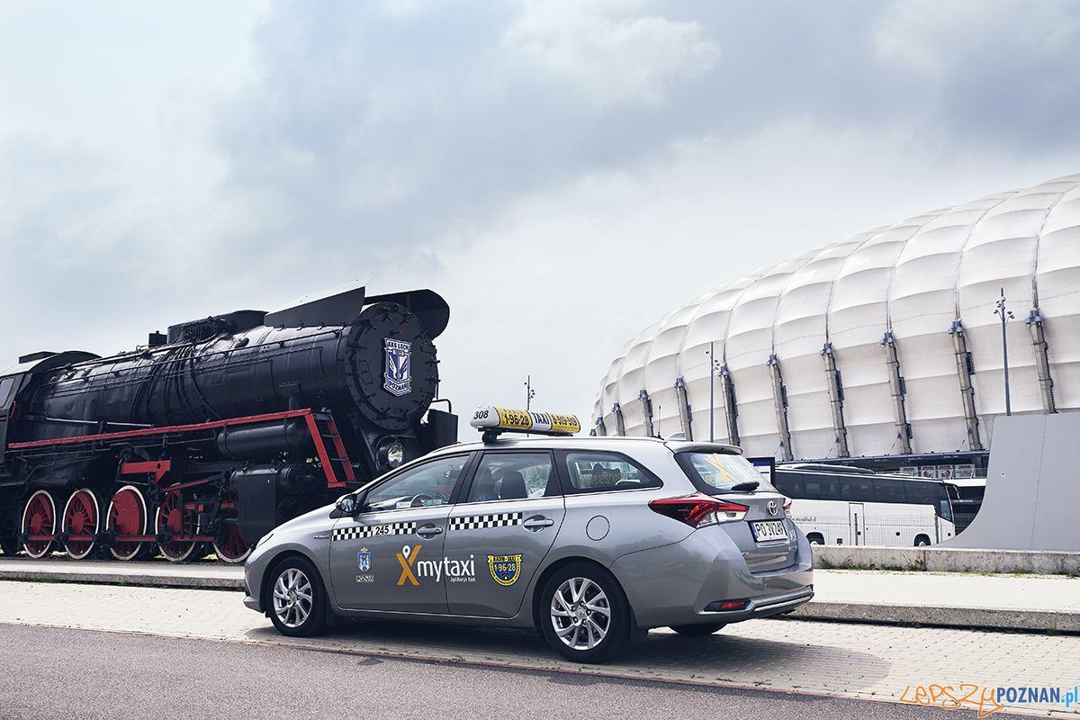 mytaxi w Poznaniu  Foto: materiały prasowe my taxi