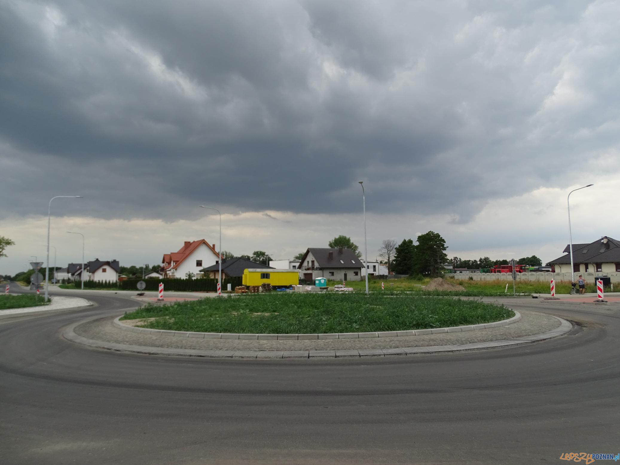 Zalasewo - Kleszczewo - budowa drogi powiatowej  Foto: Powiat Poznański - materiały informacyjne