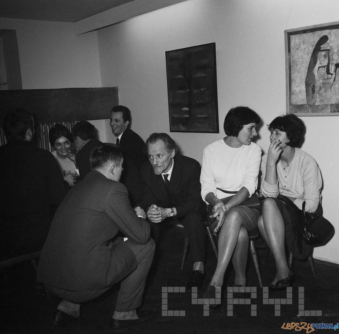 Galeria OdNowa – Tadeusz Kalinowskiz żoną Anną Cyronek 1968
