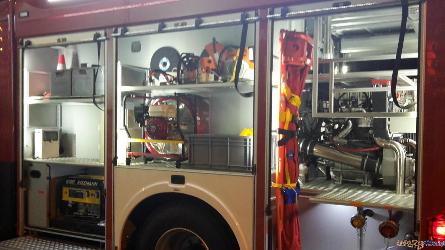 Nowy wóz strażacki w Kostrzynie  Foto: OSP Kostrzyn