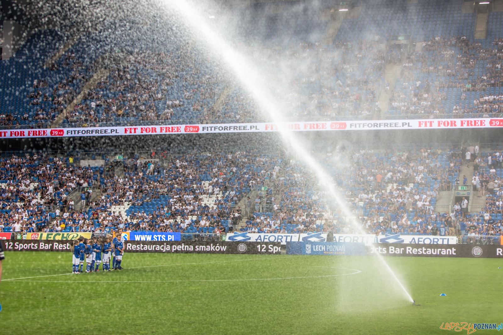 Lech Poznań - FC Shakhtyor Soligorsk (najlepsi kibice na świec  Foto: lepszyPOZNAN.pl/Piotr Rychter
