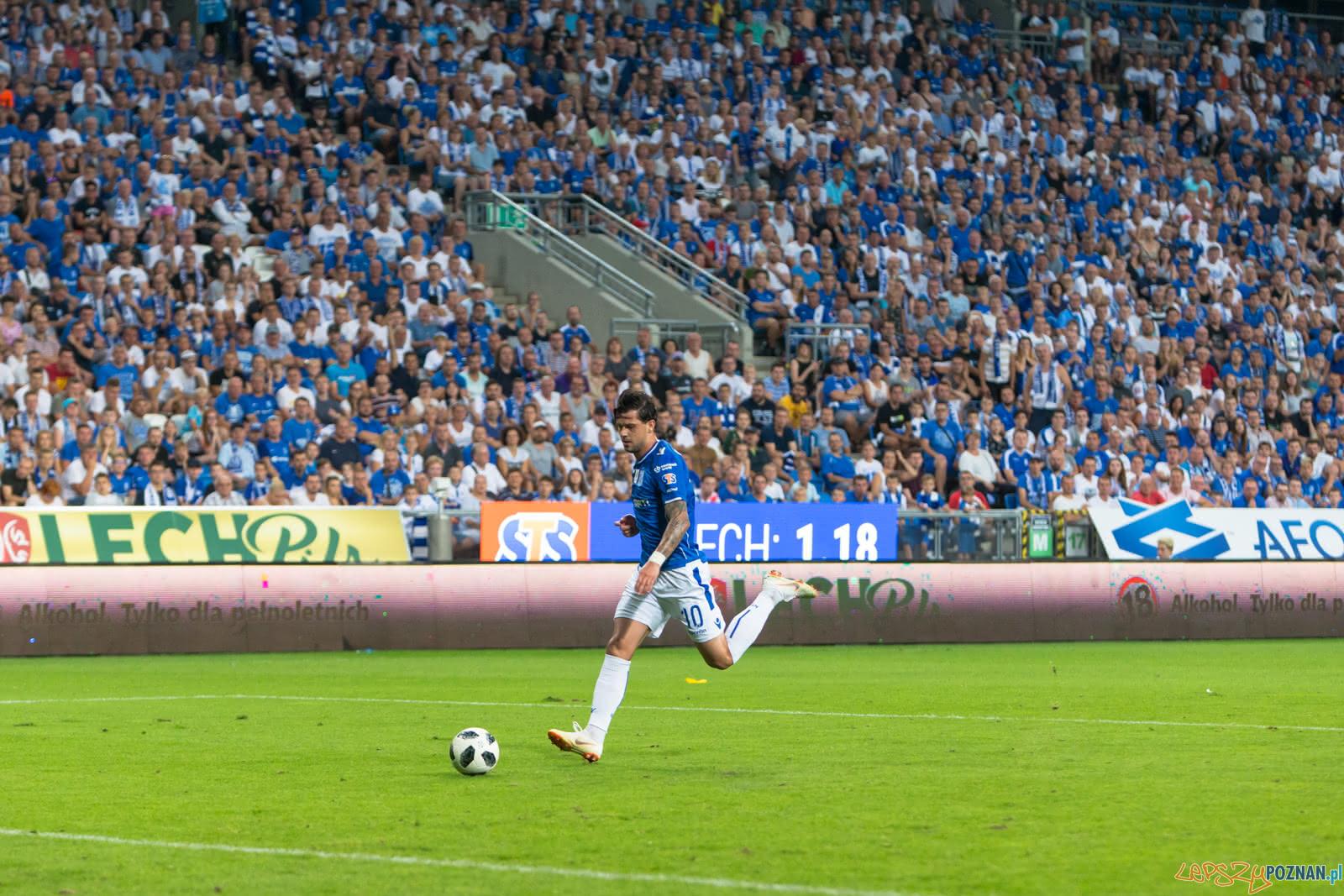 Lech Poznań - FC Shakhtyor Soligorsk (Darko jevtic)  Foto: lepszyPOZNAN.pl/Piotr Rychter