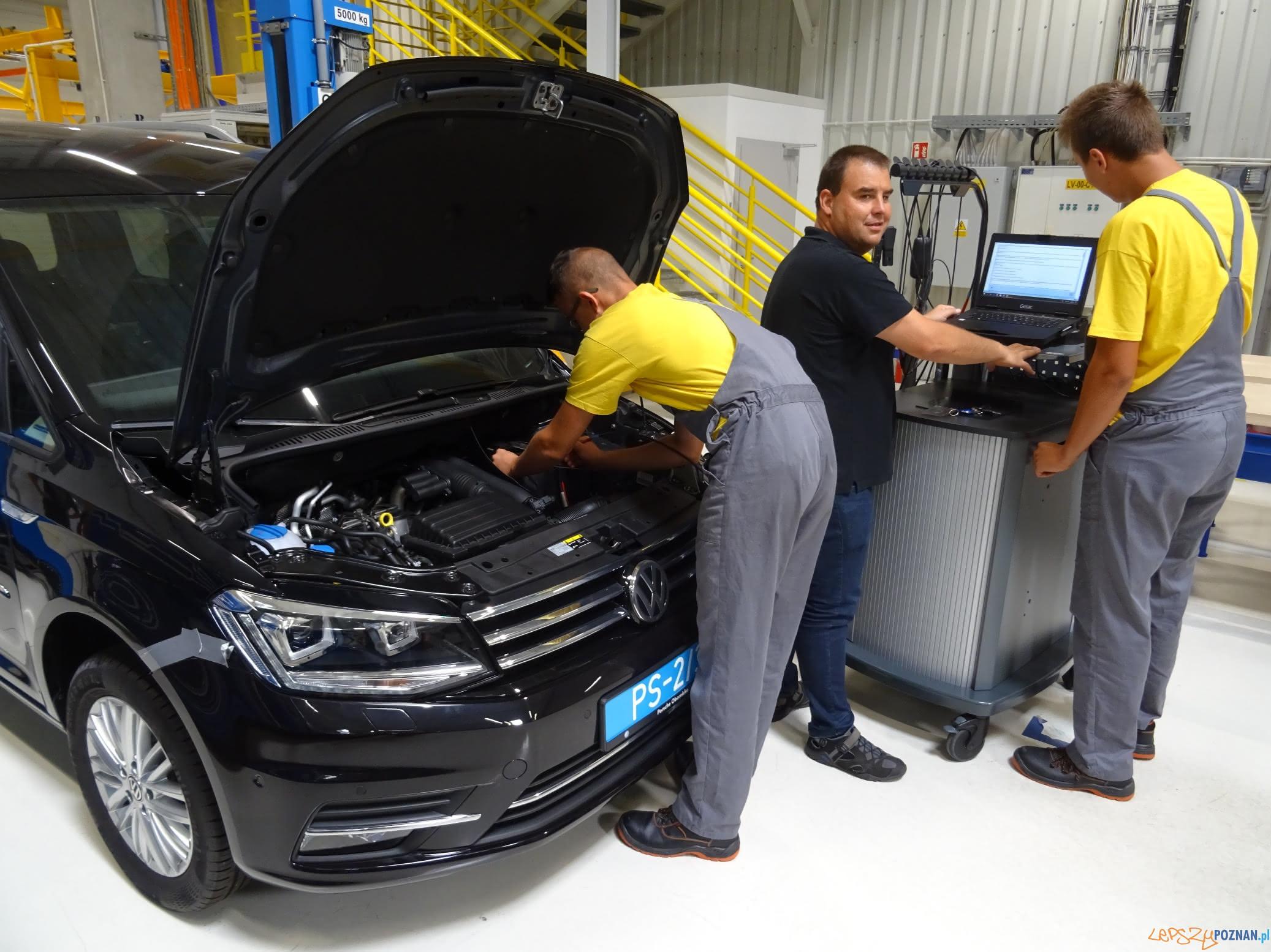 Elektromechanik pojazdow samochodowych  Foto: VW / materiały prasowe