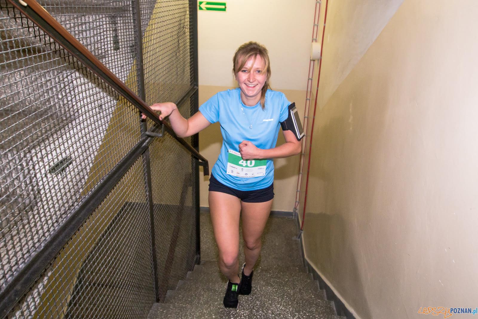 IV Bieg po schodach Collegium Altum