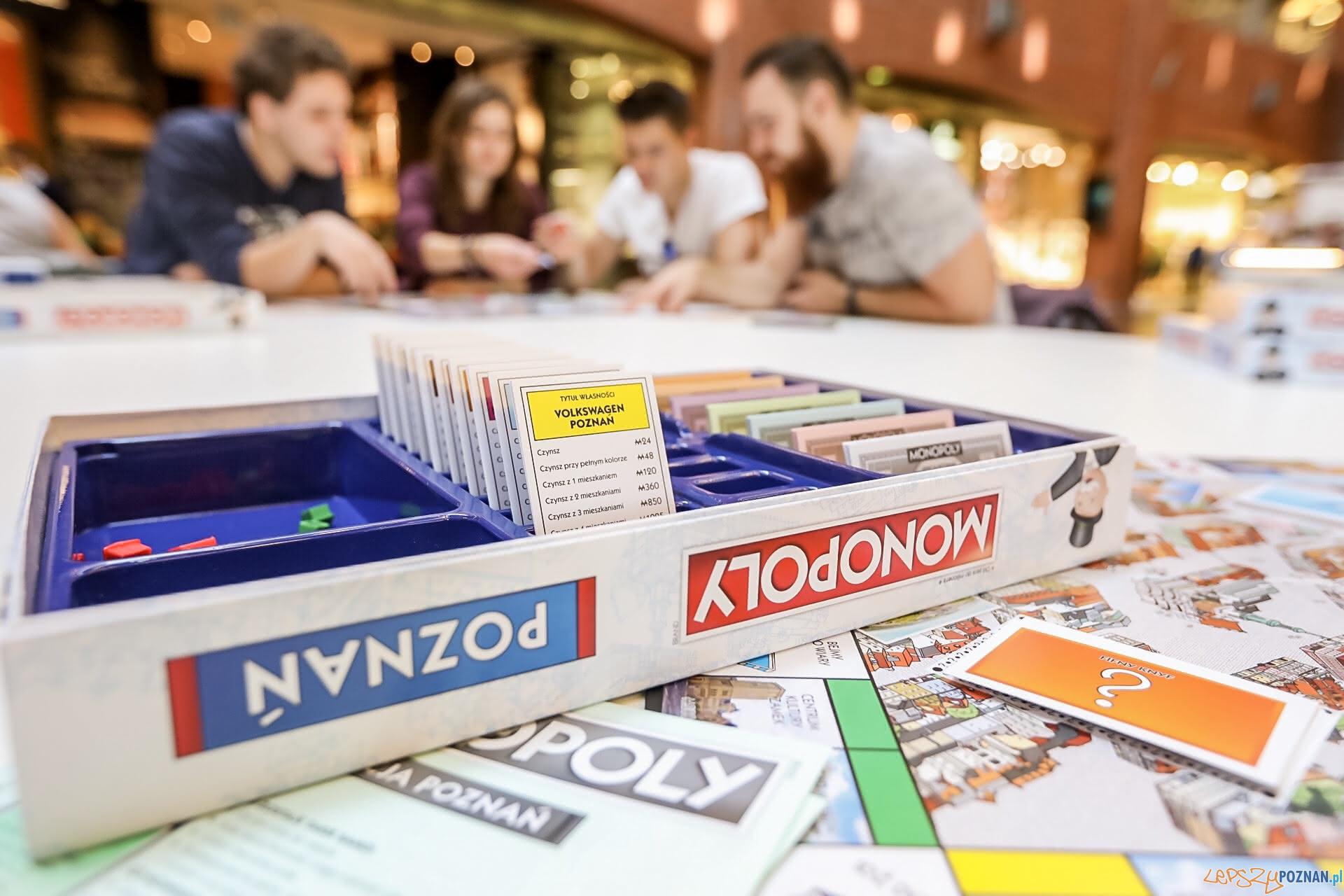 Monopoly Poznań - premiera gry  Foto: Dobocom / materiały prasowe