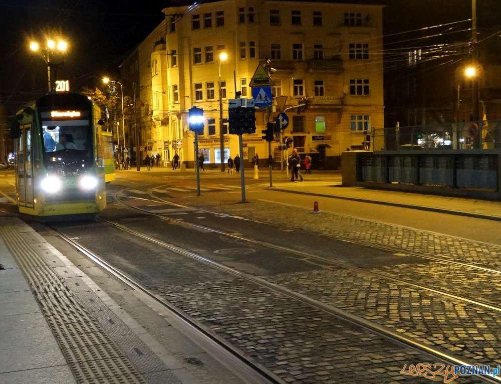 Nocny Tramwaj - linii 201  Foto: ZTM