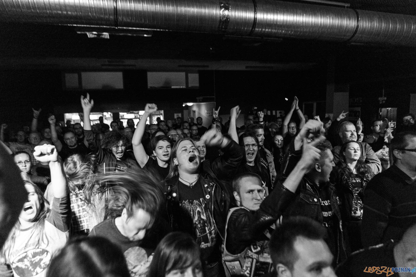 """Dimond Head w klubie """"u Bazyla"""" - Poznań 4.11.2018 r.  Foto: LepszyPOZNAN.pl / Paweł Rychter"""