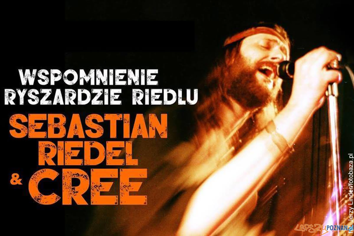 Wspomnienie o Ryszardzie Riedlu - Sebastian Riedel & Cree (plakat)  Foto: materiały prasowe