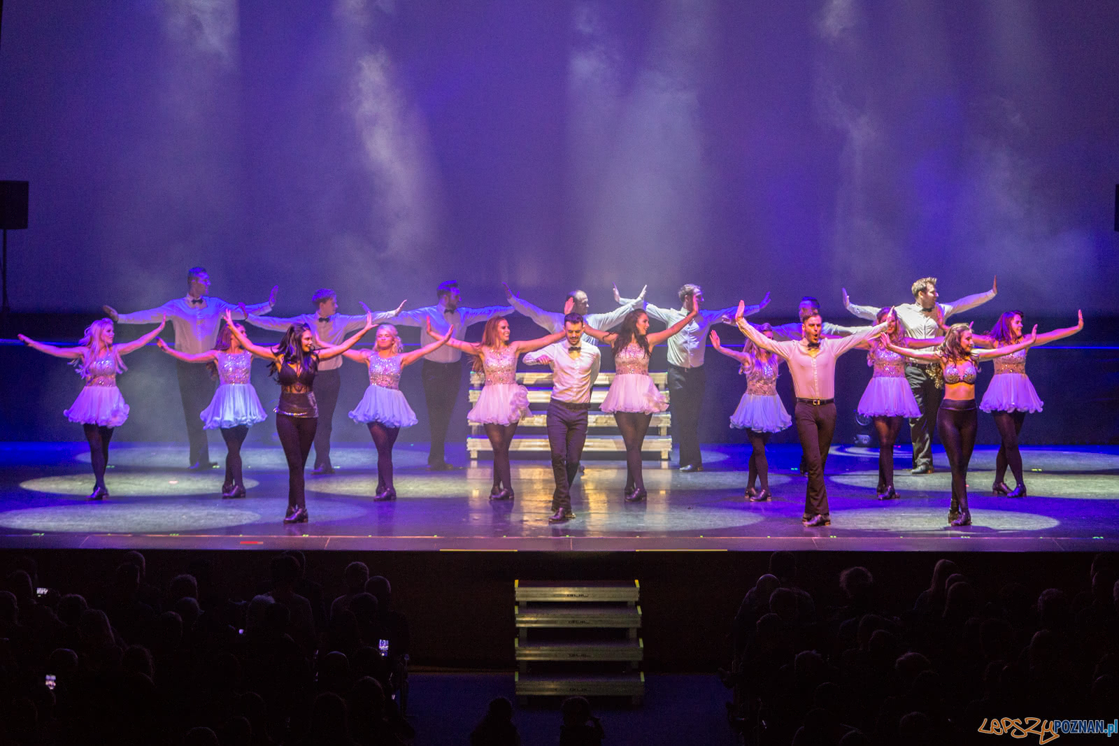 Gaelforce Dance w Sali Ziemi - Poznań 6.12.2018 r.  Foto: LepszyPOZNAN.pl / Paweł Rychter