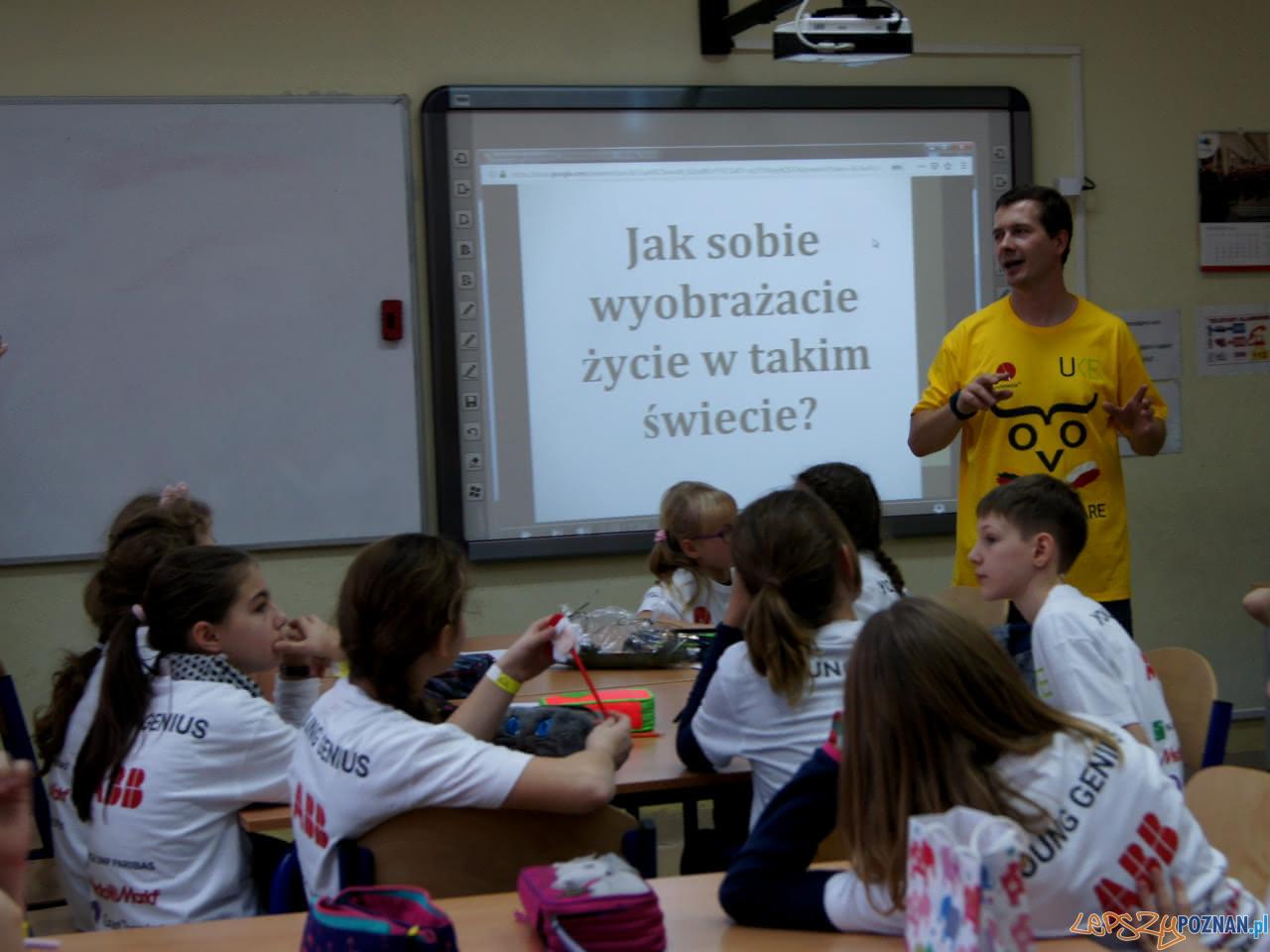 Programuj z klasa w SP 58 Poznań  Foto: materiały prasowe