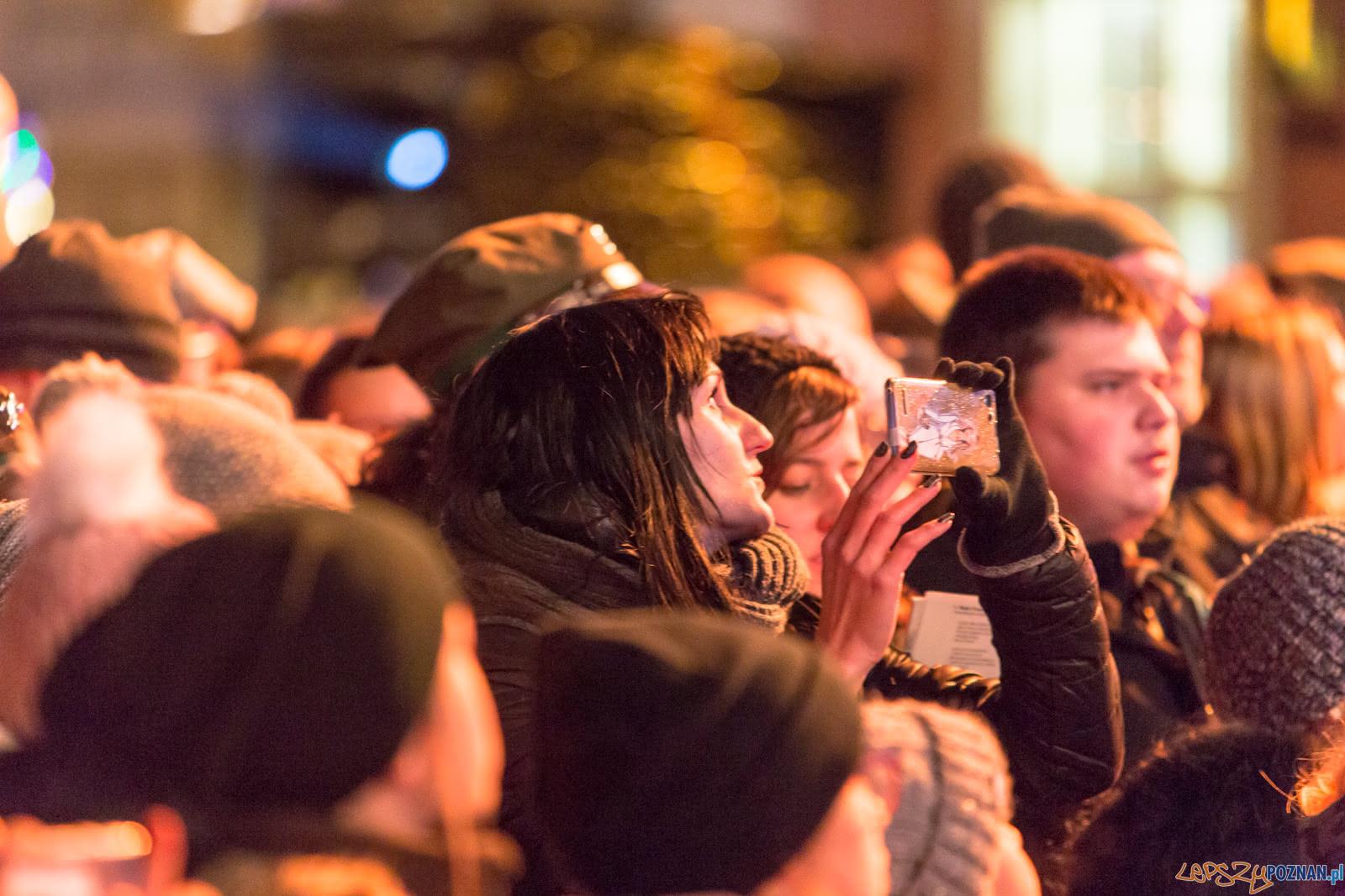 Wielkopolanie Śpiewają Niepodległe  Foto: lepszyPOZNAN.pl/Piotr Rychter