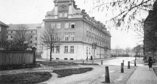 Kręta [Nowowiejskiego - Kościuszki]  Foto: Narodowe Archiwm Cyfrowe / IKC