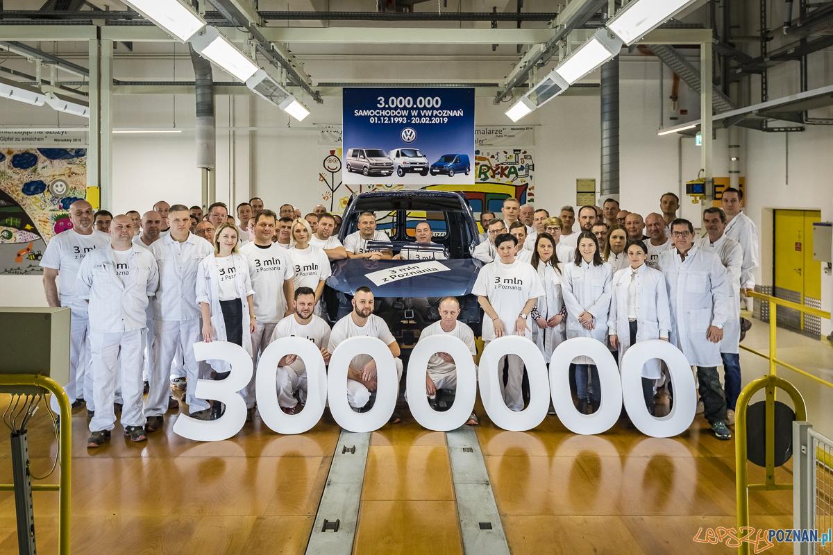 2019 volkswagen 3milionowy caddy lakiernia  Foto: materiały prasowe / VW Poznań