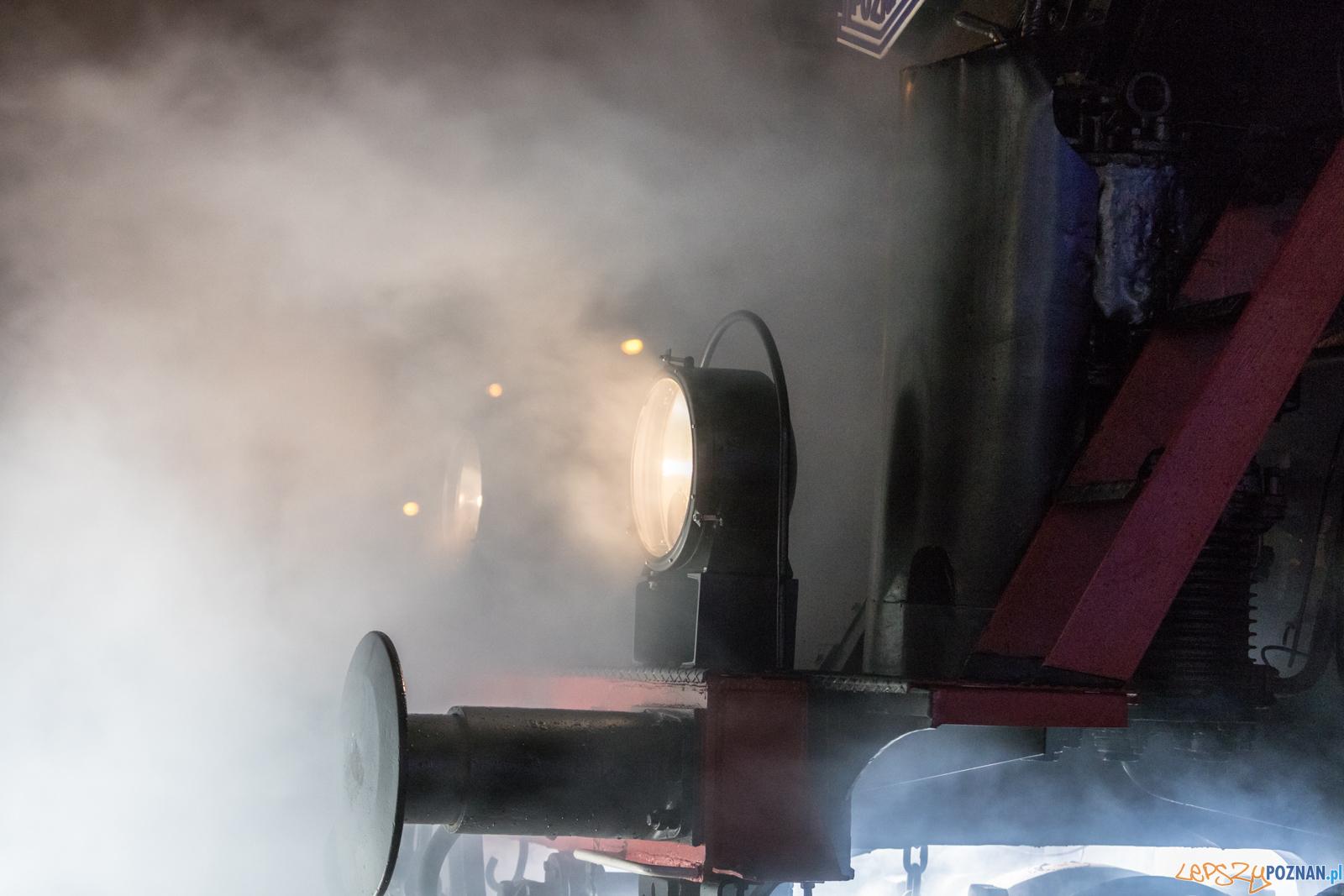 Nowa odsłona lokomotywy na 97-lecie LEcha  Foto: lepszyPOZNAN.pl/Piotr Rychter