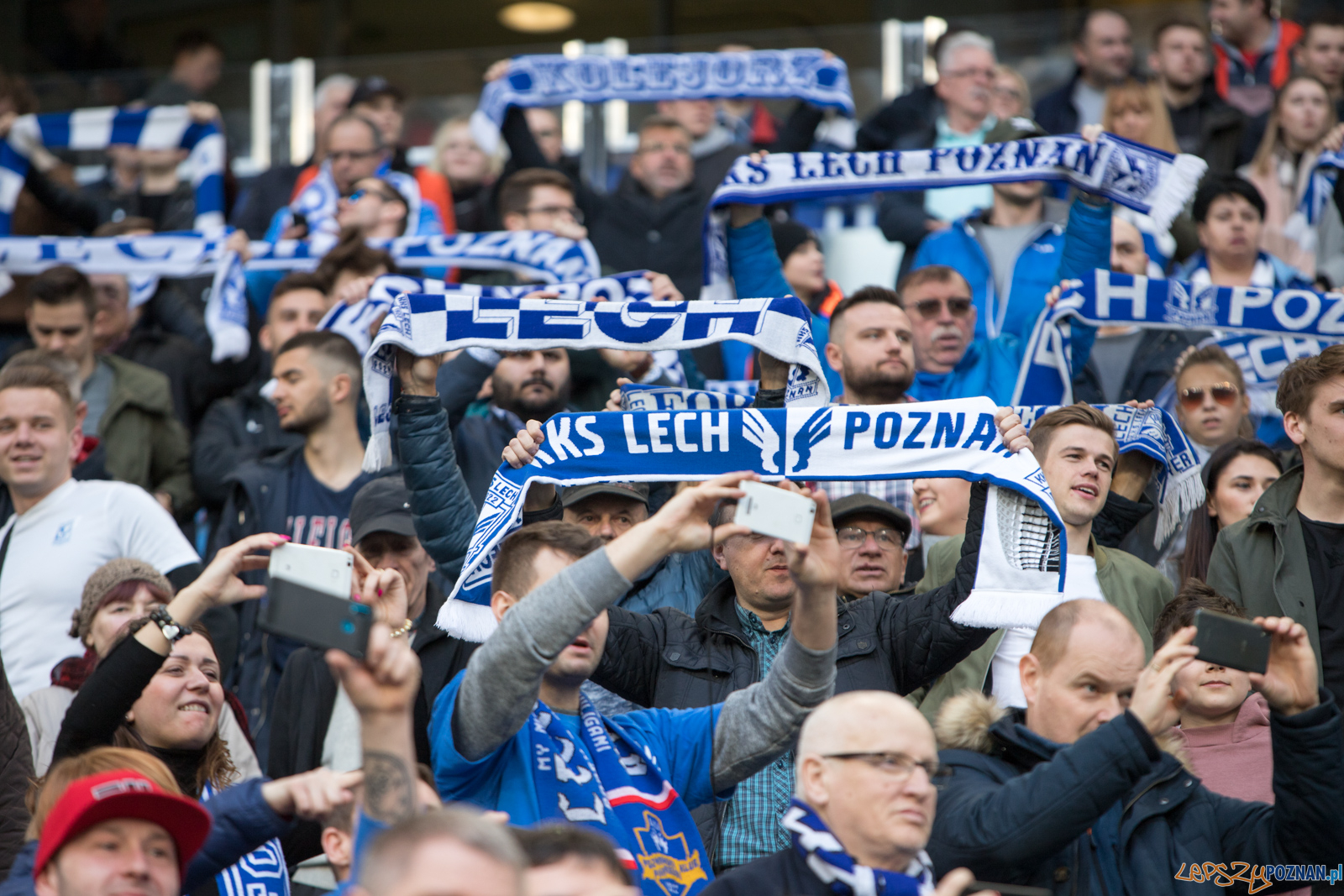 Lech Poznań - Pogoń Szczecin (najlepsi kibice na świecie)  Foto: lepszyPOZNAN.pl/Piotr Rychter
