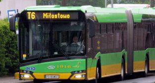 """Warszawska - T6 Autobus """"za tramwaj""""  Foto: ZTM / materiały informacyjne"""