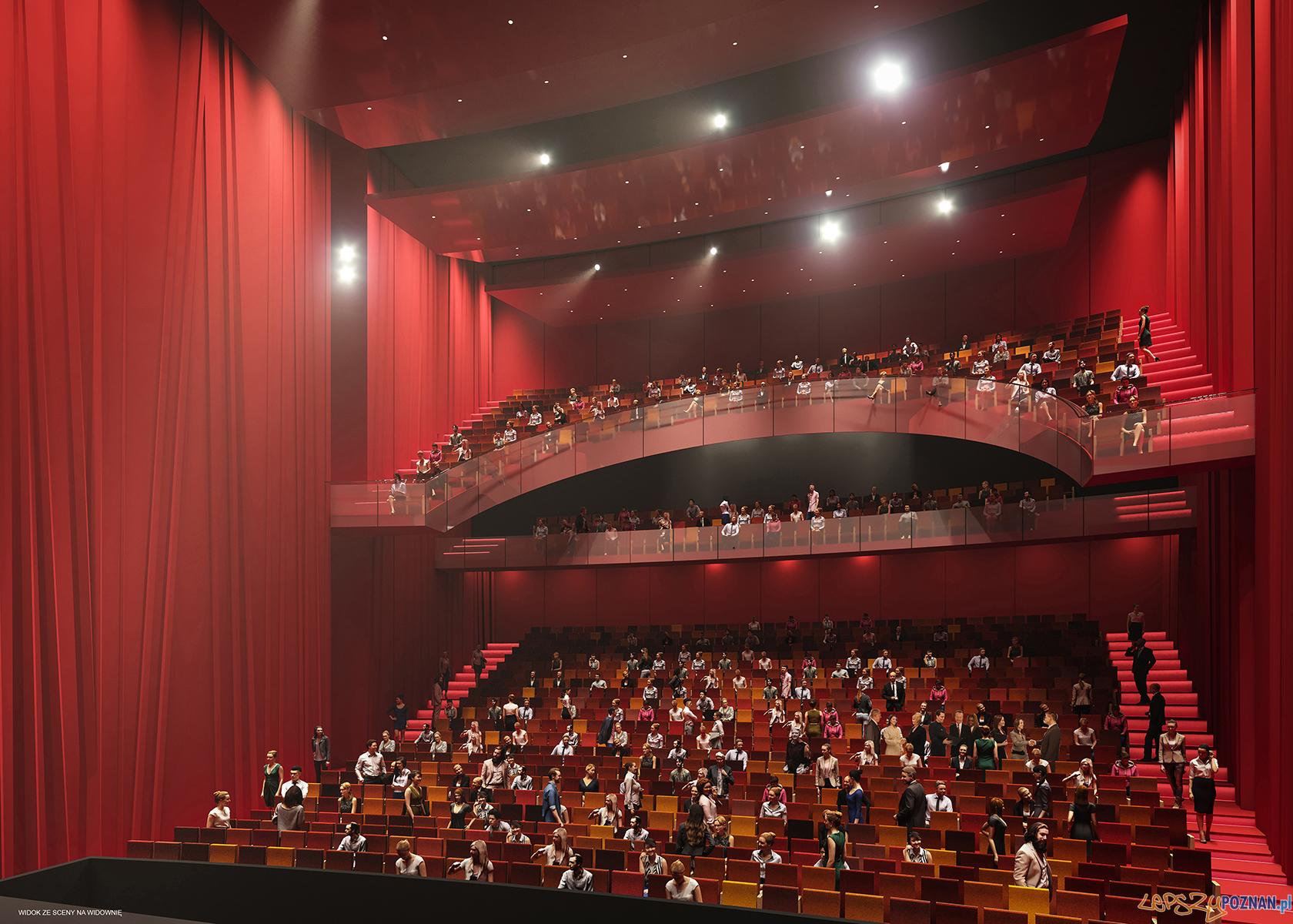 Tak będzie wyglądał nowy Teatr Muzyczny  Foto: materiały prasowe UMP