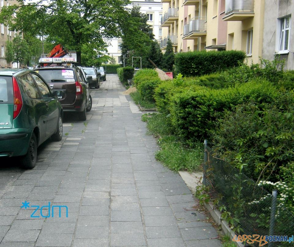 Wojskowa - ZDM zapowiada remont chodnika  Foto: ZDM / materiały informacyjne