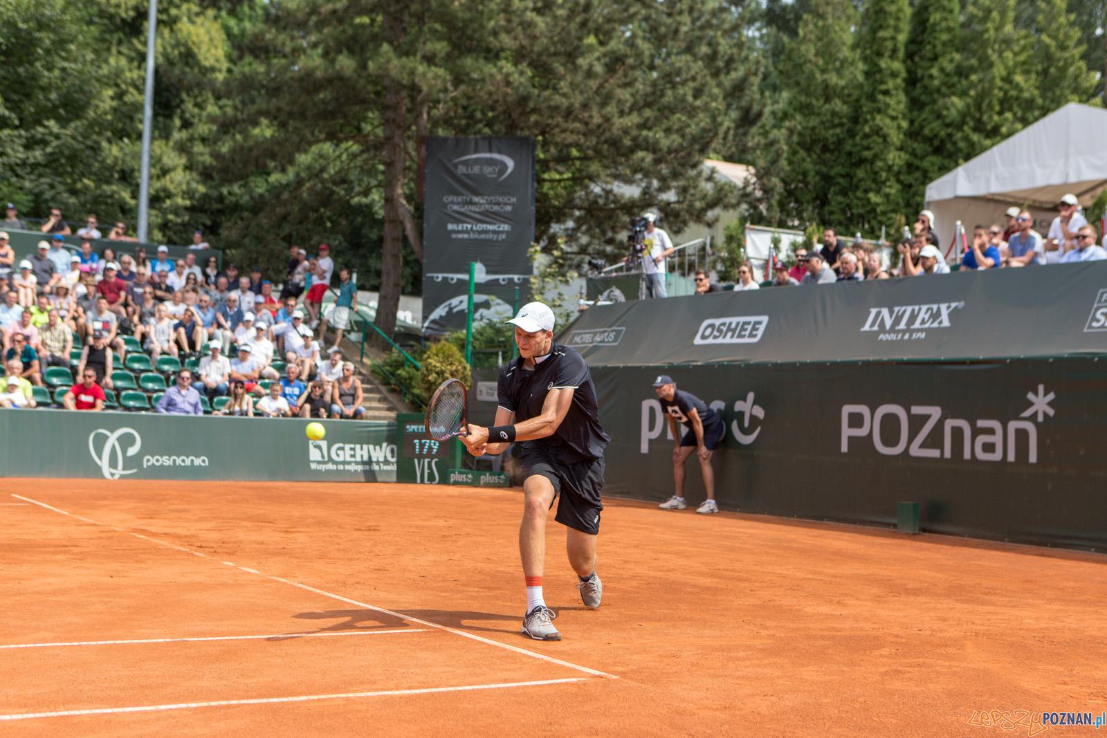 Allessandro Giannessi (ITA) vs Huber Hurkacz (POL) - Poznań Ope  Foto: Paweł Rychter