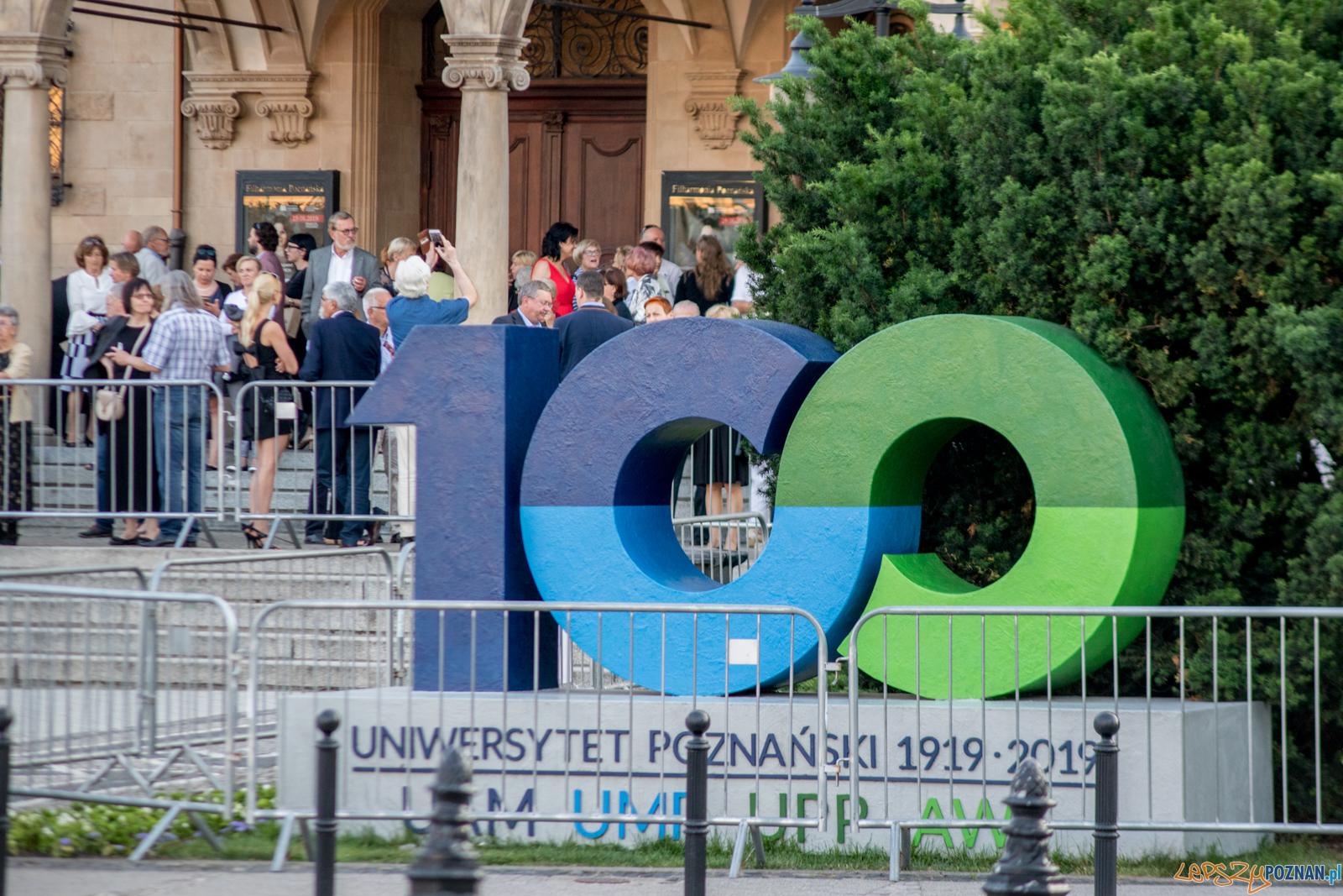 100-lecie Uniwersytetu Poznańskiego  Foto: lepszyPOZNAN.pl / Ewelina Jaśkowiak