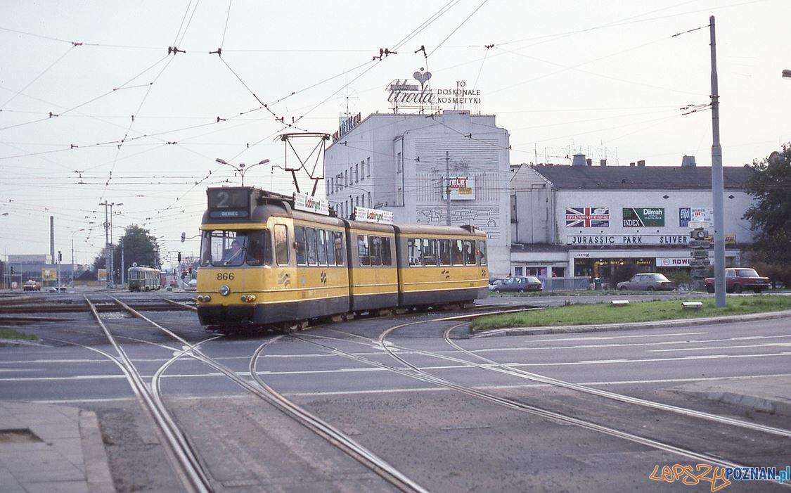 Tramwaj Holandia Kaponiera 1993  Foto: