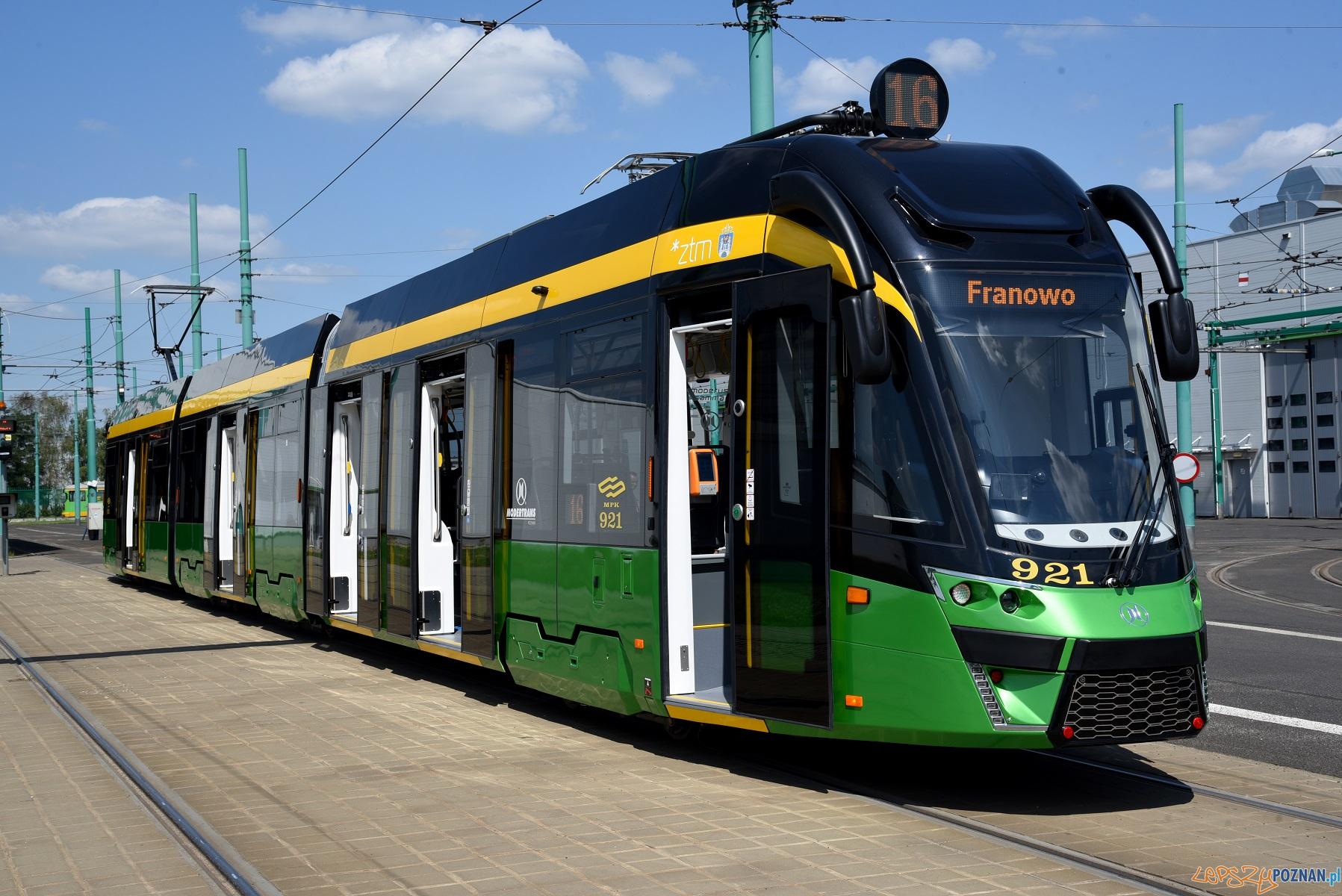 dwukierunkowy tramwaj Moderus Gamma  Foto: materiały prasowe / UMP