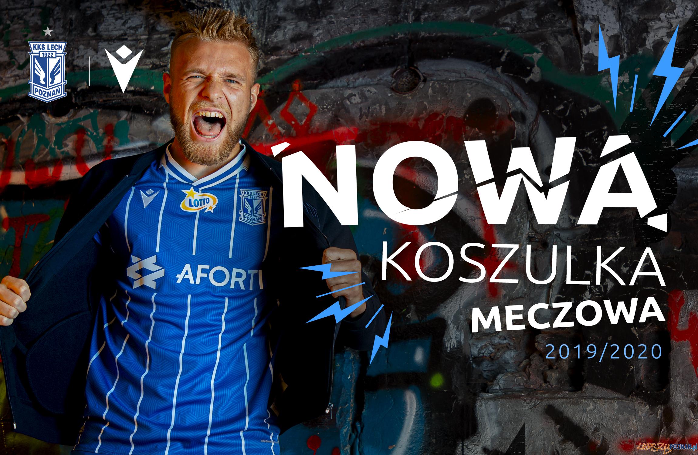 Nowa koszulka meczowa kolejorza  Foto: lechpoznan.pl / Lech Poznań