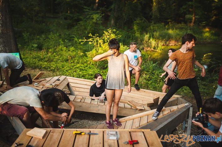 Ogród Dendrologiczny - Mood for Wood  Foto: Dawid Majewski / Uniwersytet Przyrodniczy - materiały prasowe