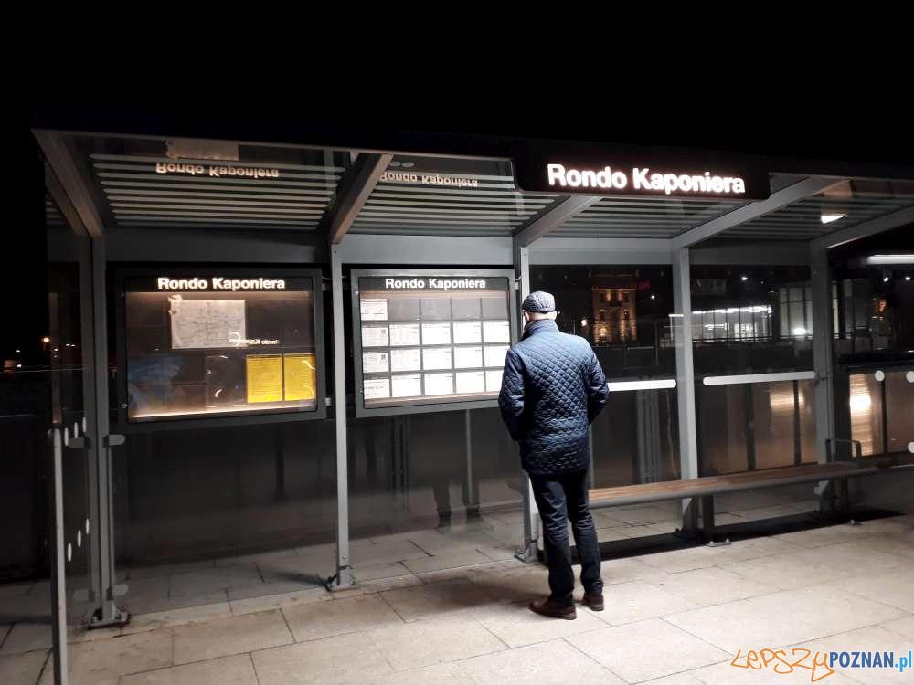Przystanek Rondo Kaponiera  Foto: ZTM