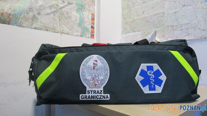 Torba medyczna Straży Granicznej  Foto: materiały prasowe / SG