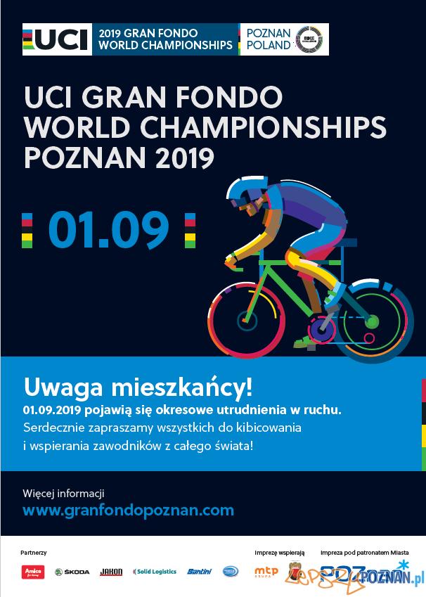 Mistrzostwa Świata UCI Gran Fondo w Poznaniu  Foto: materiały prasowe