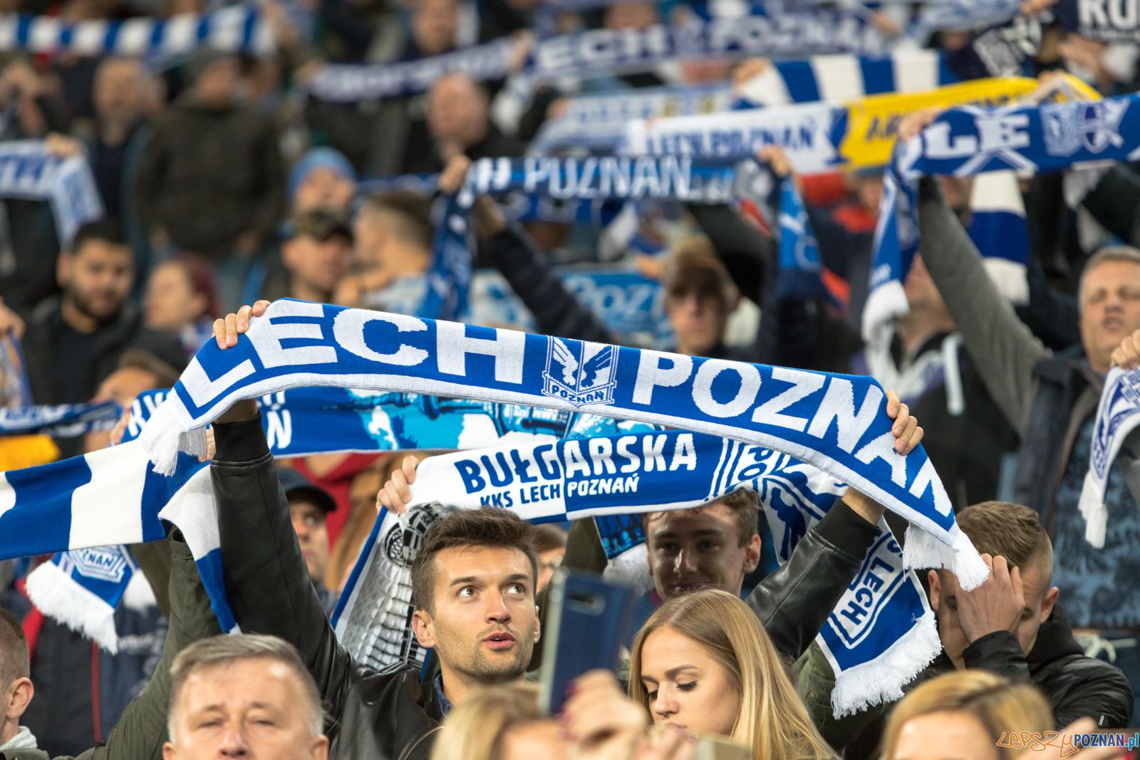 Lech Poznań - Jagiellonia Białystok (najlepsi kibice na świec  Foto: lepszyPOZNAN.pl/Piotr Rychter