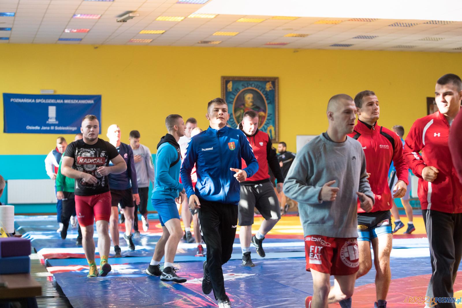 Młodzieżowe Mistrzostwa Polski Zapasy Styl Klasyczny  Foto: lepszyPOZNAN.pl/Piotr Rychter
