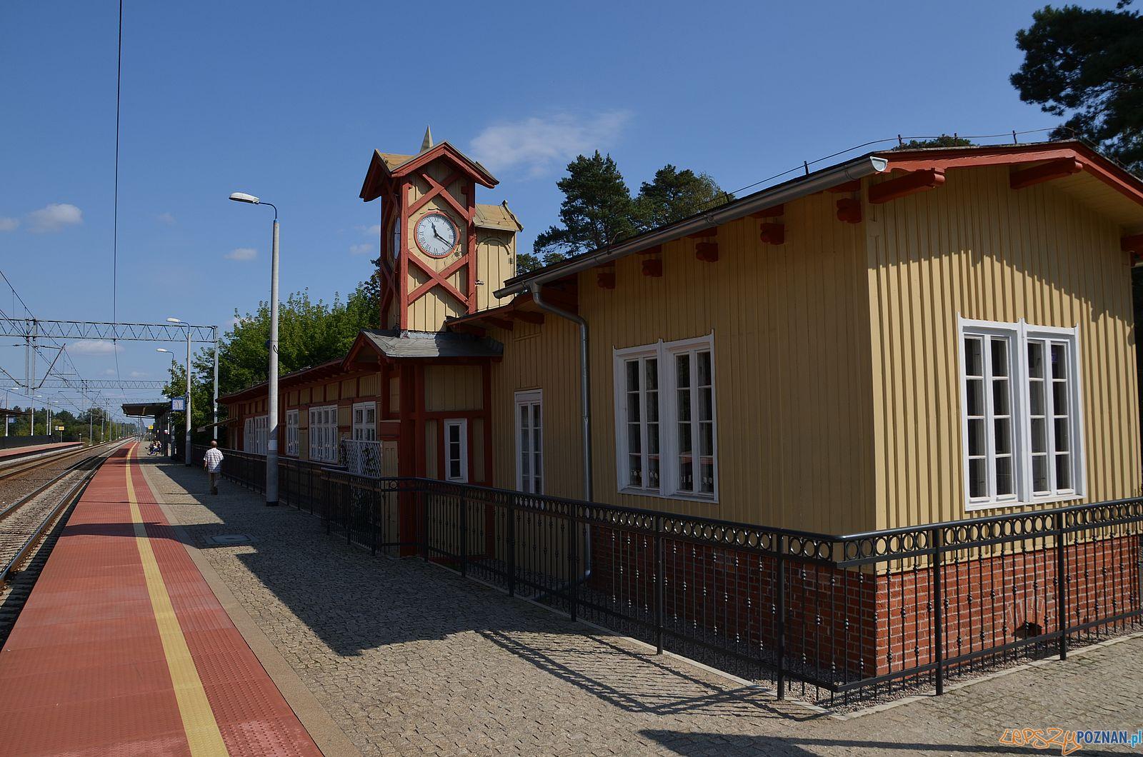Puszczykowo - dworzec  Foto: Powiat Poznański