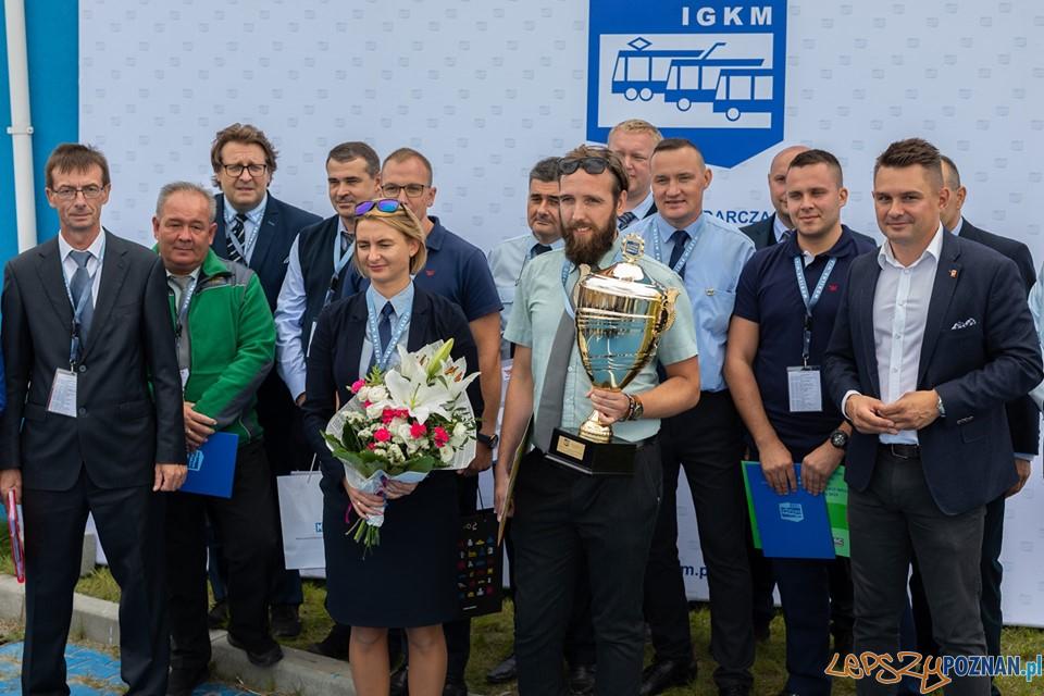 Najlepszy kierowca  Foto: MICHAL RESZKA / MPK Poznań
