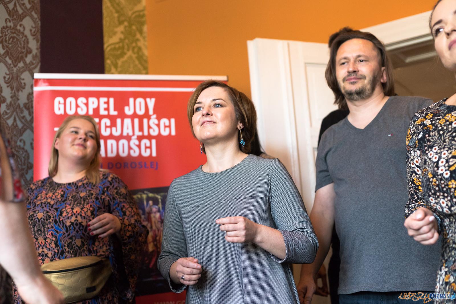 Gospel Joy - Prezentacja The Greatest Gospel Hits  Foto: lepszyPOZNAN.pl/Piotr Rychter