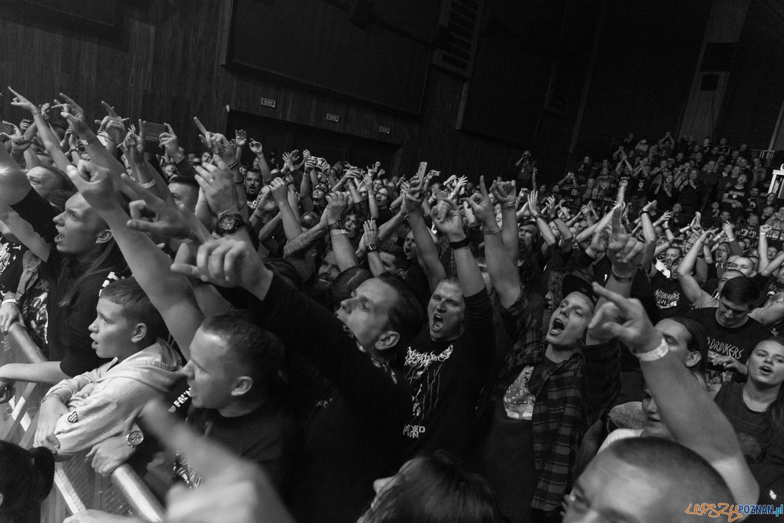 XXX-lecie Acid Drinkers na Zamku - Poznań 5.10.2019 r. (foto: P  Foto: Paweł Rychter