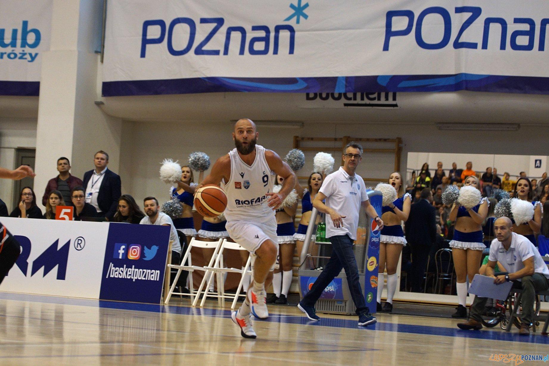 Biofarm Basket Poznan STK CzarniSlupsk  Foto: Beata Brociek / materiały prasowe