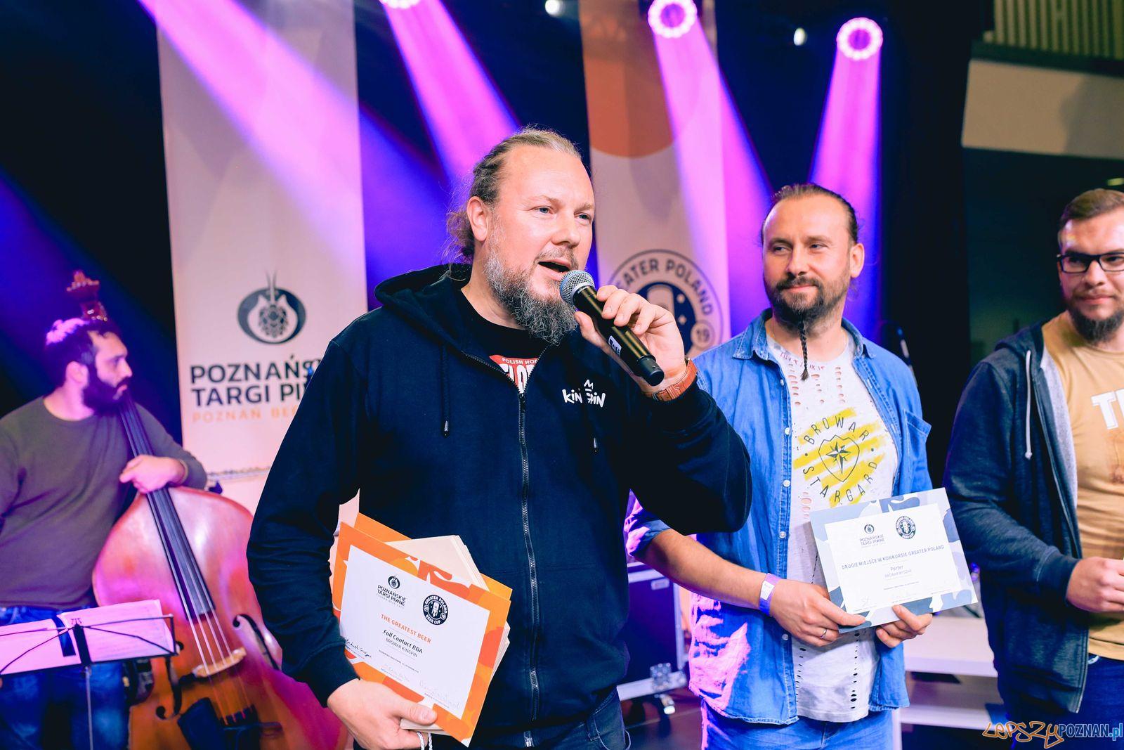 Targi Piwne - nagrodzeni  Foto: Bartosz Pussak / materiały prasowe