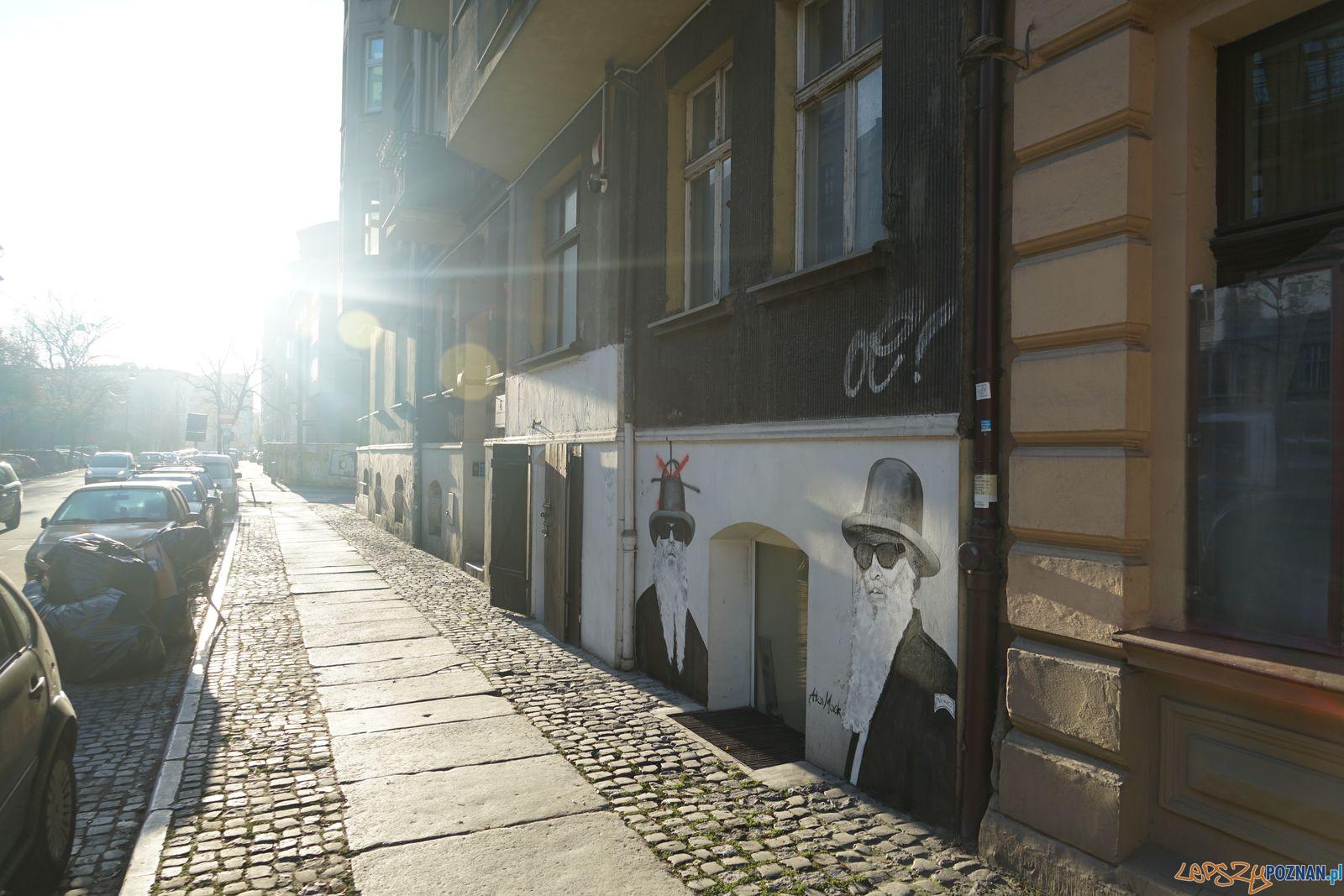 Murale na Mostowej - ulica Krokodyli (2)  Foto: materiały prasowe MZD