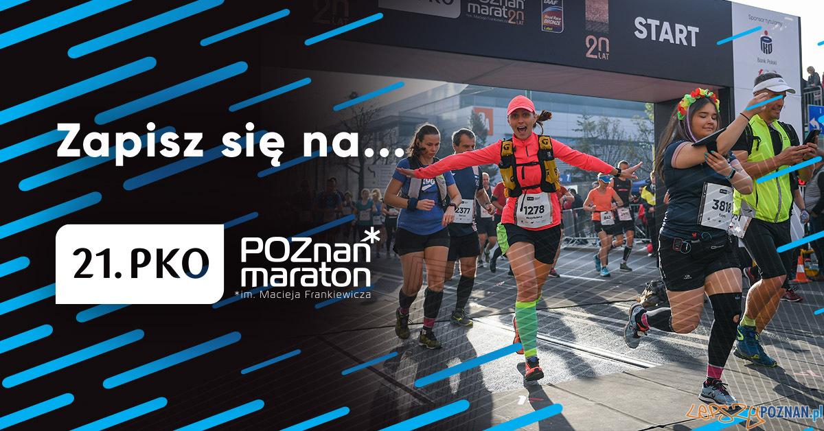 Ruszyły zapisy na Poznań Maraton 2020  Foto: materiały prasowe