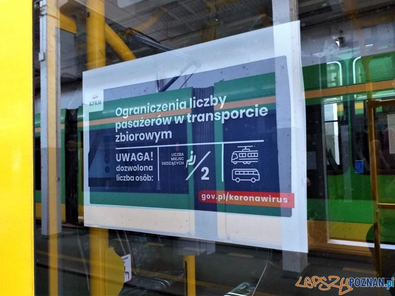 Ograniczenia w komunikacji  Foto: materiały prasowe / UMP