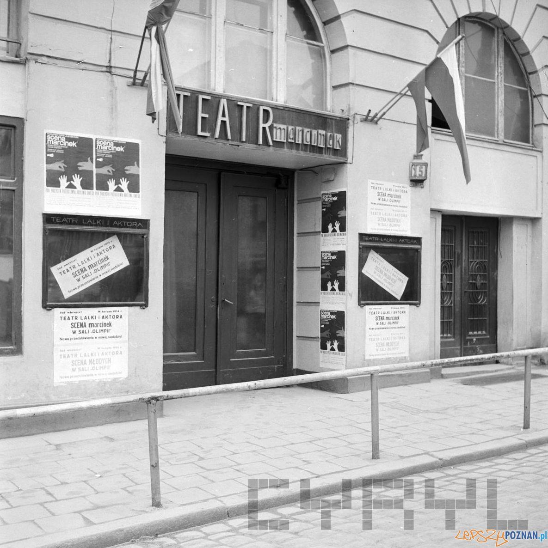 Sw. Marcin Teatr Marcinek 23.02.1974 S. Wiktor Cyryl  Foto: