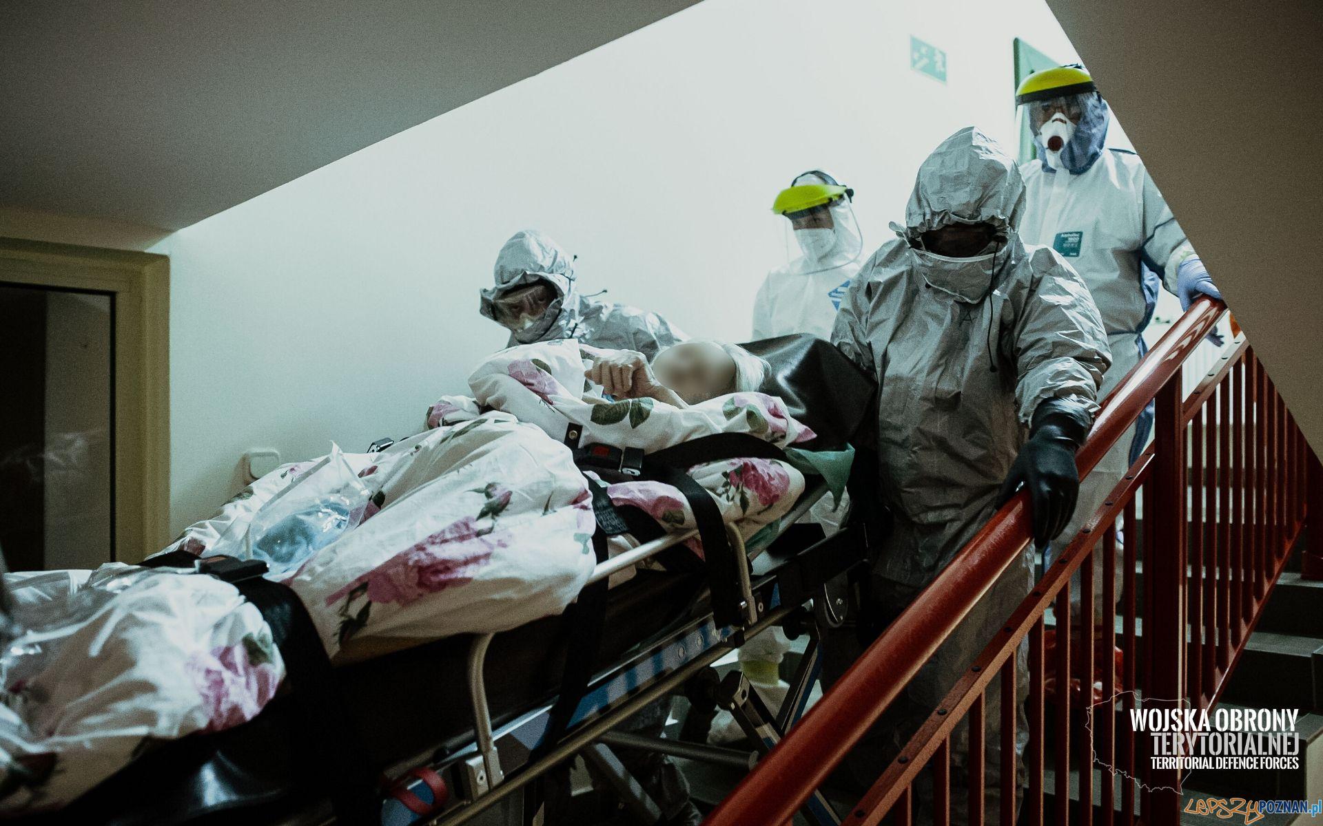Ewakuacja pensjonariuszy kaliskiego DPS zakończona  Foto: Terytorialsi
