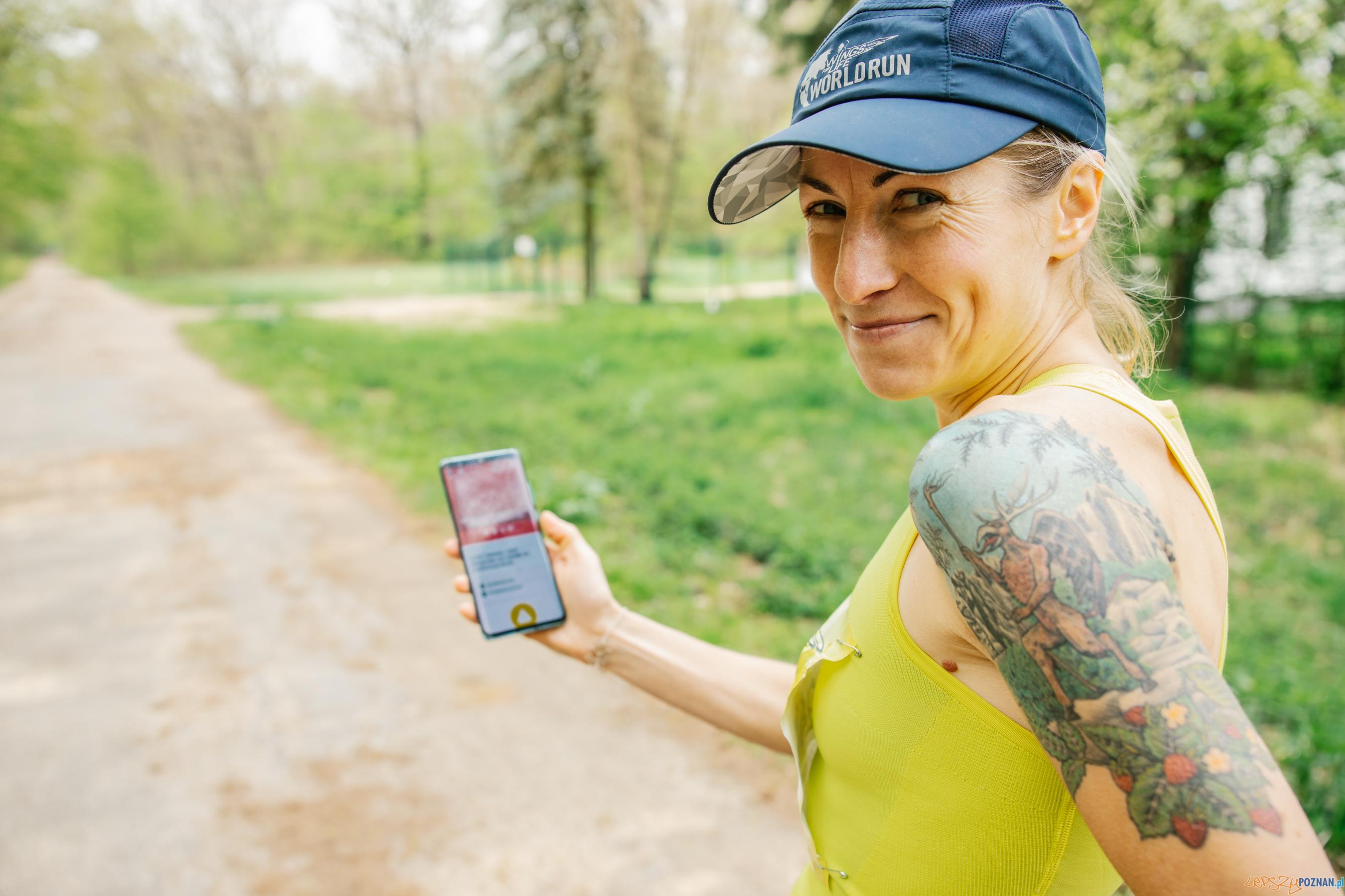 Dominika Stelmach pokonała 51,2km w biegu z aplikacją  Foto: materiały prasowe / Dorota Szulc